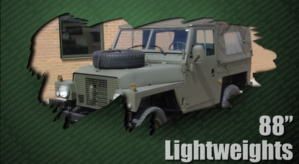 ex army mod land rovers and military vehicles for sale
