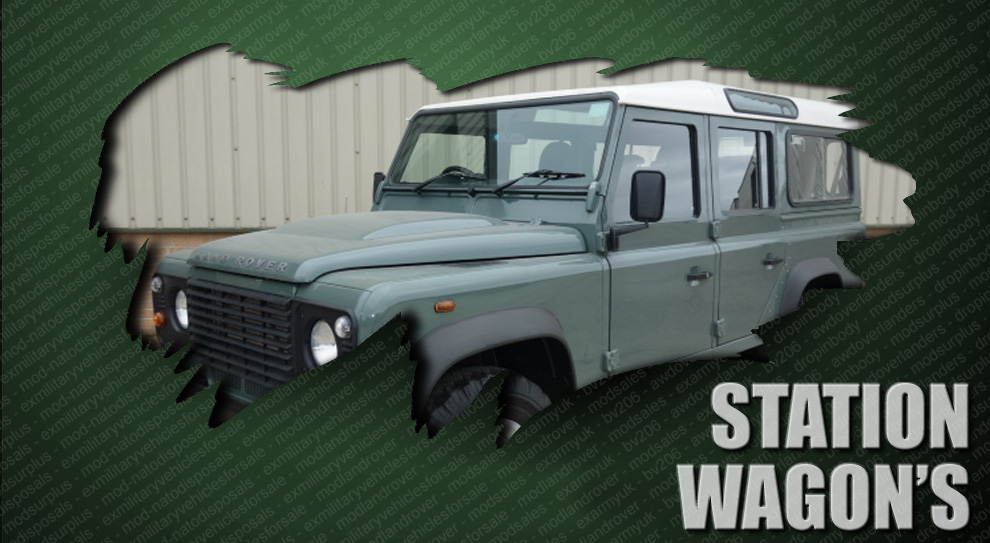 ex army mod land rovers and military vehicles for sale - Station Wagons